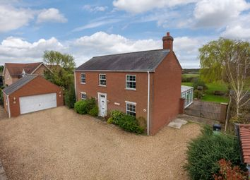 Thumbnail 4 bed detached house for sale in Oakington Road, Dry Drayton, Cambridge
