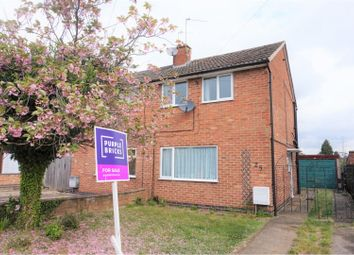 2 bed semi-detached house for sale in Heddington Way, West Knighton LE2