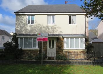 Thumbnail 4 bed detached house for sale in Lulworth Drive, Plymouth