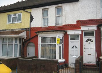 Thumbnail 3 bed terraced house to rent in Tew Park Road, Handsworth, Birmingham