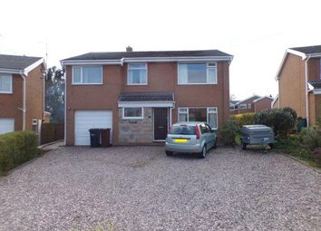 Thumbnail 4 bed detached house for sale in The Close, Mold, Flintshire