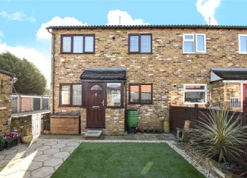 Thumbnail 1 bed terraced house for sale in Rushes Mead, Uxbridge, Middlesex