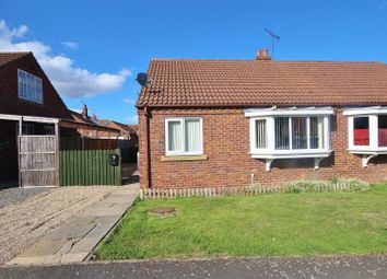 Thumbnail 2 bed bungalow for sale in Manor Drive, North Duffield, Selby