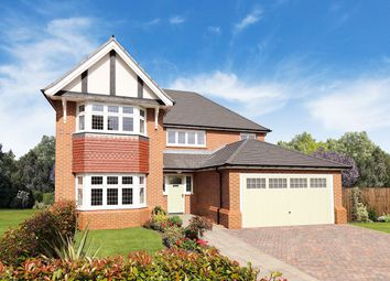 "Thumbnail 4 bed detached house for sale in ""Henley"" at Chester Road, Woodford, Stockport"
