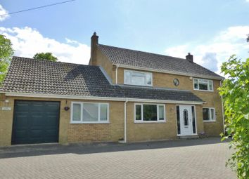 Thumbnail 4 bed detached house for sale in Harringworth Road, Gretton, Corby