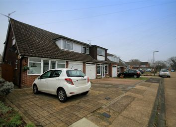Thumbnail 3 bed semi-detached house to rent in Anglesey Close, Ashford, Surrey