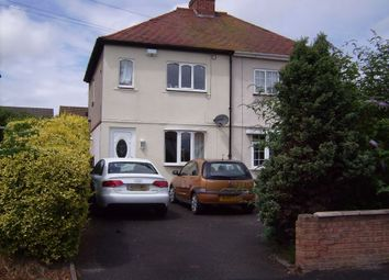 Thumbnail 2 bed semi-detached house to rent in Allton Avenue, Mile Oak, Tamworth, Staffordshire