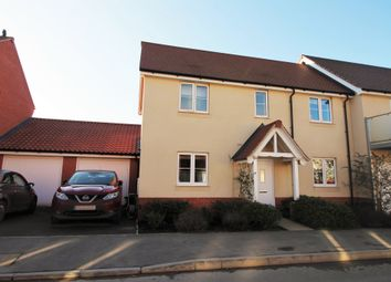 Thumbnail 3 bed semi-detached house for sale in Maritime Approach, Rowhedge, Colchester