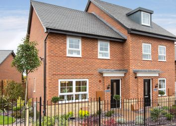 "Thumbnail 4 bed semi-detached house for sale in ""Kingsville"" at Woodcock Square, Mickleover, Derby"