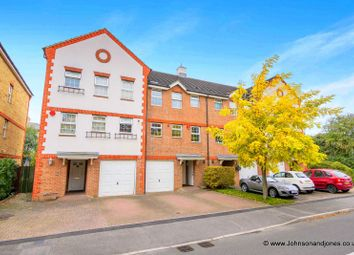 Thumbnail 4 bed town house for sale in Meadow View, Chertsey