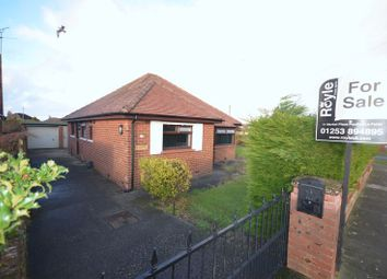 Thumbnail 2 bed detached bungalow for sale in 1 Bleasdale Avenue, Poulton-Le-Fylde, Lancs