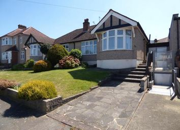 Thumbnail 2 bed semi-detached bungalow for sale in Haslemere Avenue, London