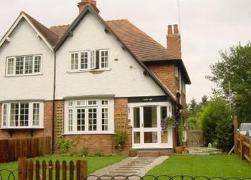 Thumbnail 3 bed semi-detached house to rent in New Road, Henley-In-Arden