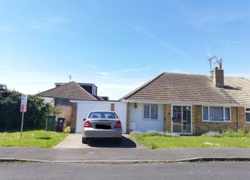 Thumbnail 2 bedroom semi-detached bungalow for sale in Blake Crescent, Stratton St. Margaret, Swindon
