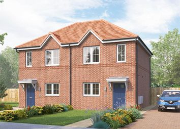 "Thumbnail 2 bed semi-detached house for sale in ""The Bambridge"" at Chilton, Ferryhill"