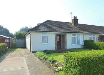 Thumbnail 2 bed terraced bungalow for sale in Olivia Road, Brampton, Huntingdon, Cambridgeshire