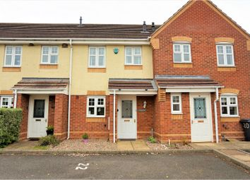Thumbnail 2 bed terraced house for sale in Island Close, Albert Village, Swadlincote