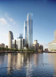 3 bed flat for sale in South Quay Plaza, Marsh Wall, Canary Wharf, London E14