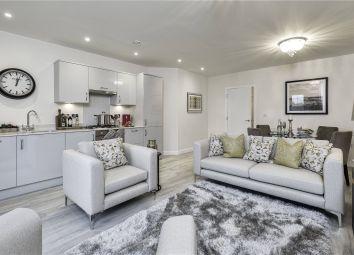 Thumbnail 2 bedroom flat for sale in Felcott Road, Hersham, Walton-On-Thames, Surrey