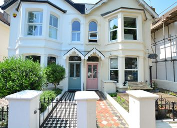 Thumbnail 2 bed flat for sale in St Leonards Road, Hove