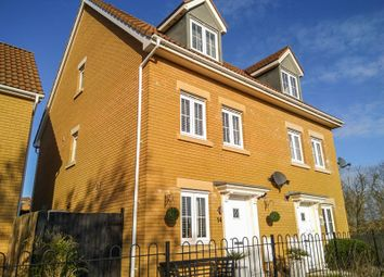 Thumbnail 4 bedroom semi-detached house for sale in Company Farm Drive, Llanfoist, Abergavenny