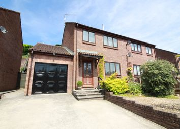 Thumbnail 3 bed semi-detached house for sale in Delafield Road, Abergavenny