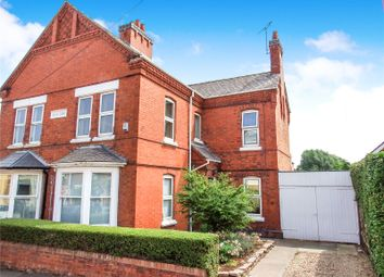 Thumbnail 3 bed semi-detached house for sale in Hawcliffe Road, Mountsorrel, Loughborough, Leicestershire