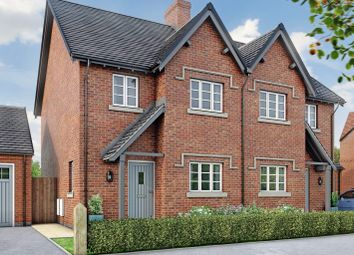 Thumbnail 3 bedroom semi-detached house for sale in The Chester, Moira, Leicestershire