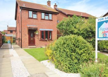 Thumbnail 3 bed detached house for sale in Pinfold Way, Sherburn In Elmet, Leeds
