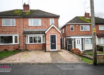 Thumbnail 2 bed semi-detached house for sale in Park Drive, Leicester Forest East