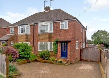 Thumbnail 3 bed semi-detached house for sale in Regnum Drive, Shaw, Newbury, Berkshire