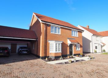 Thumbnail 4 bed detached house for sale in Nightingale Avenue, Wymondham