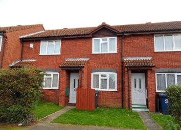 Thumbnail 2 bedroom terraced house to rent in Pembroke Avenue, St Neots, Cambs