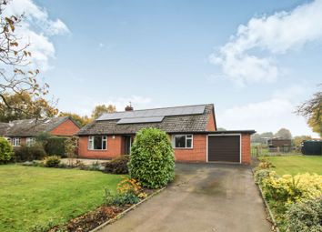 Thumbnail 3 bed detached bungalow for sale in Shawbury Heath, Shrewsbury