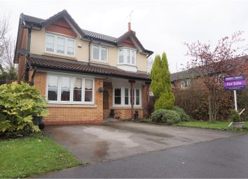 Thumbnail 4 bed detached house for sale in Merridale Road, Manchester