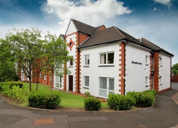 Thumbnail 1 bedroom flat for sale in 22 Homeglen House, Giffnock
