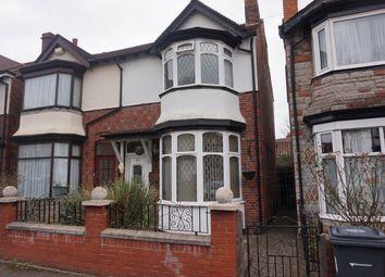 Thumbnail 3 bedroom semi-detached house for sale in Lansdowne Road, Erdington, Birmingham