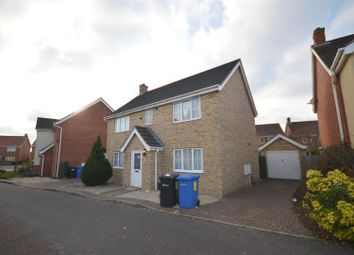 Thumbnail 6 bed detached house to rent in Tizzick Close, Norwich