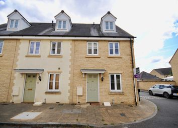 Thumbnail 3 bed end terrace house to rent in Woodley Green, Witney