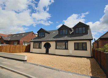 Thumbnail 4 bed detached bungalow for sale in Delamere Avenue, Lowton, Warrington