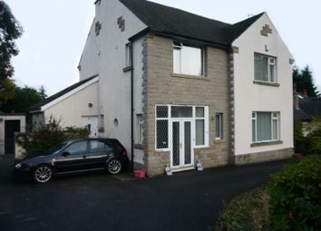 Thumbnail 4 bed detached house to rent in Woodhall Park Crescent East, Pudsey
