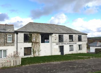 Thumbnail Commercial property for sale in The Museum And Land Adjoining, The Clease, Camelford, Cornwall