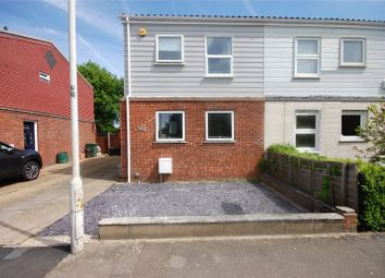 Thumbnail 3 bed semi-detached house for sale in Rectory Road, Pitsea, Essex