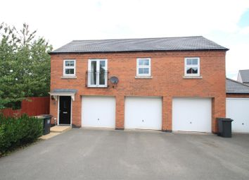 Thumbnail 2 bed flat to rent in Cornfield Close, Ellistown, Coalville