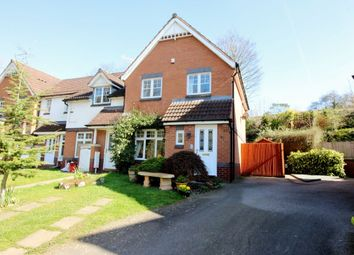 Thumbnail 3 bed terraced house for sale in Woodmill Meadow, Kenilworth