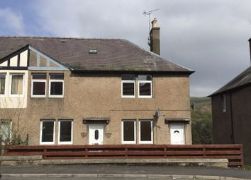 Thumbnail 2 bed flat to rent in Wood Street, Galashiels, Borders