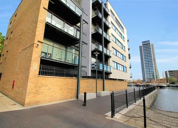 Thumbnail 2 bed flat for sale in Boardwalk Place, London, Greater London