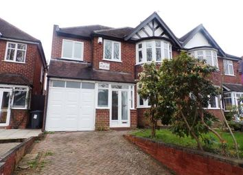 Thumbnail 5 bed semi-detached house for sale in Wake Green Road, Moseley, Birmingham, West Midlands