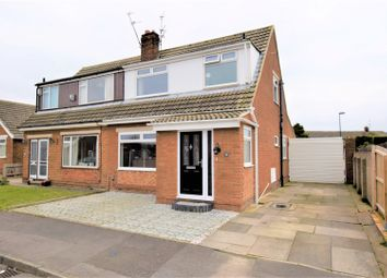 Thumbnail 3 bed semi-detached house for sale in Blenheim Avenue, Redcar