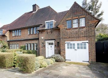 Thumbnail 5 bed semi-detached house for sale in Litchfield Way, Hampstead Garden Suburb